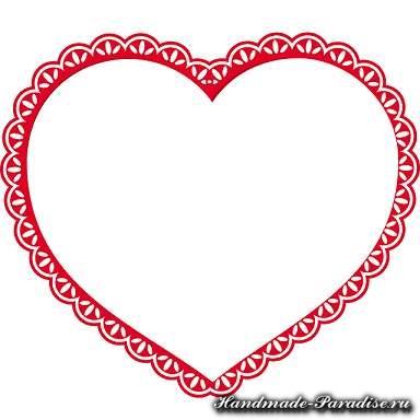 Корзинка с сердечками ко дню Святого Валентина (9)