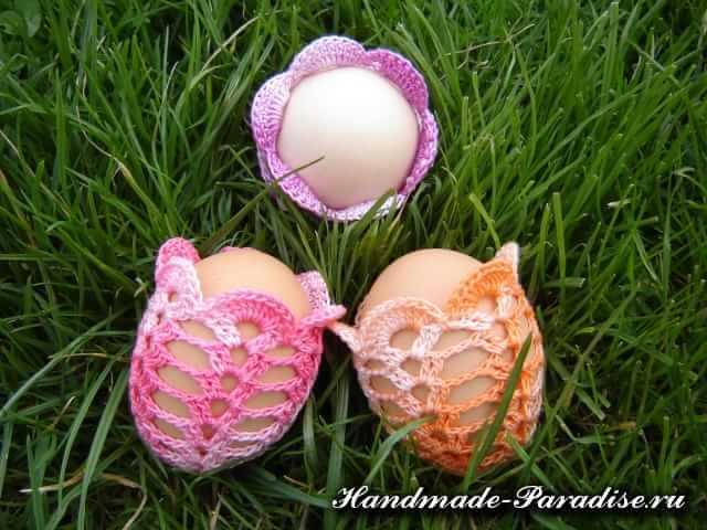 Обвязка крючком пасхальных яиц (2)