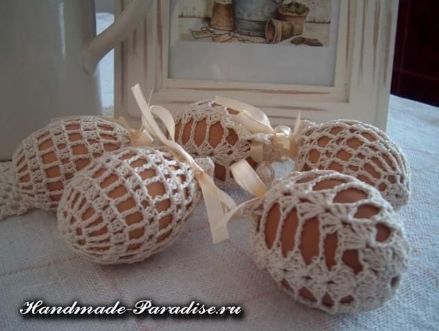 Обвязка крючком пасхальных яиц. Схемы (1)