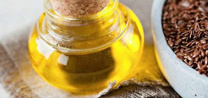 Омолаживающая смесь из льняного масла