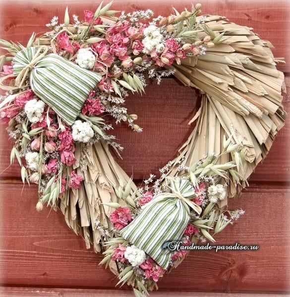 схемы вязания цветов.