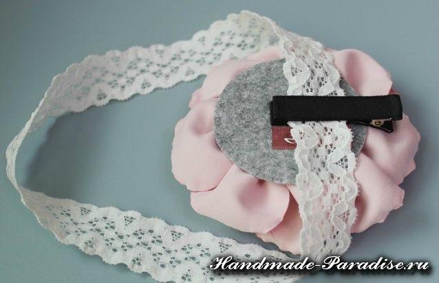 Пионы из ткани своими руками (3)