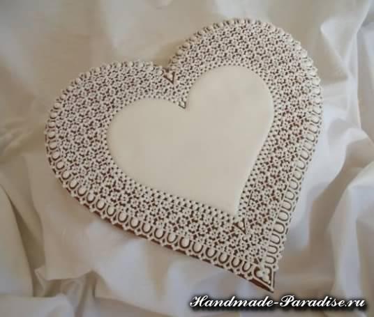 Пряники в форме сердца ко дню Святого Валентина (3)