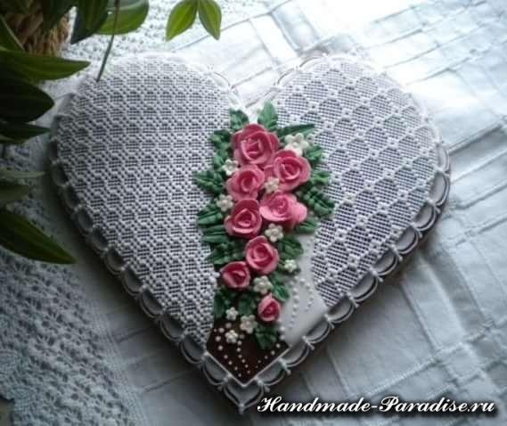 Пряники в форме сердца ко дню Святого Валентина (7)