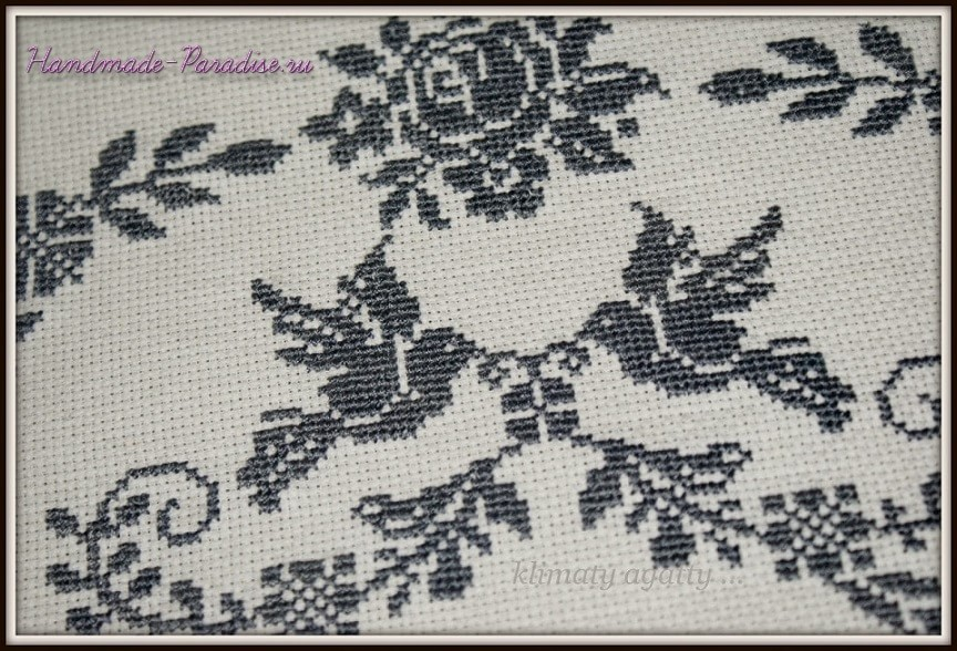 Схема ангела вышивки крестом (3)