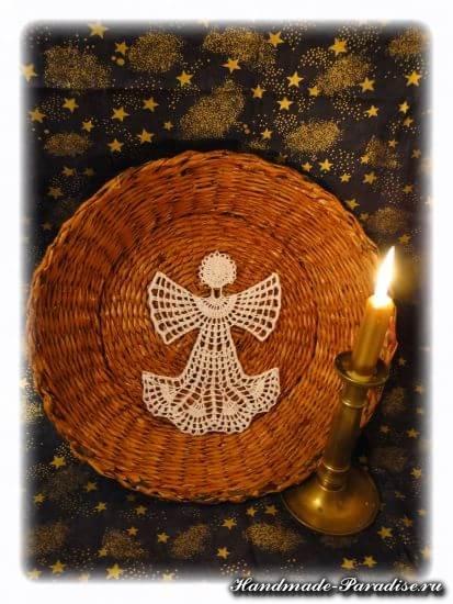 Схема вязания ангела крючком (2)