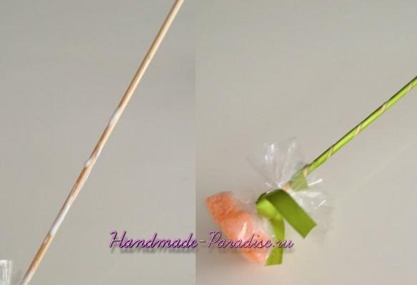 Сладкие букеты из мармеладок (7)