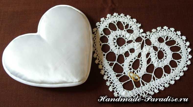 Свадебная подушечка для колец (9)