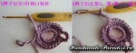 Цветочная шаль крючком (15)