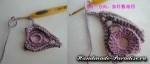 Цветочная шаль крючком (21)