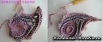 Цветочная шаль крючком (23)