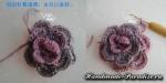 Цветочная шаль крючком (31)