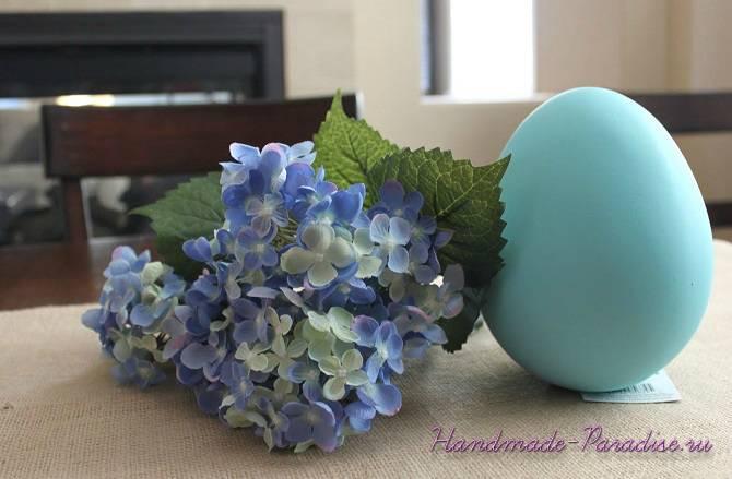 Цветочные пасхальные яйца своими руками (5)
