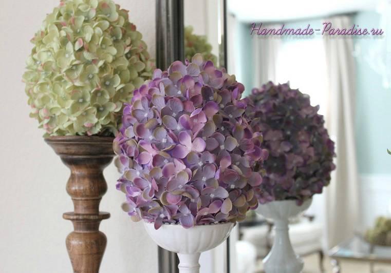 Цветочные пасхальные яйца своими руками (8)