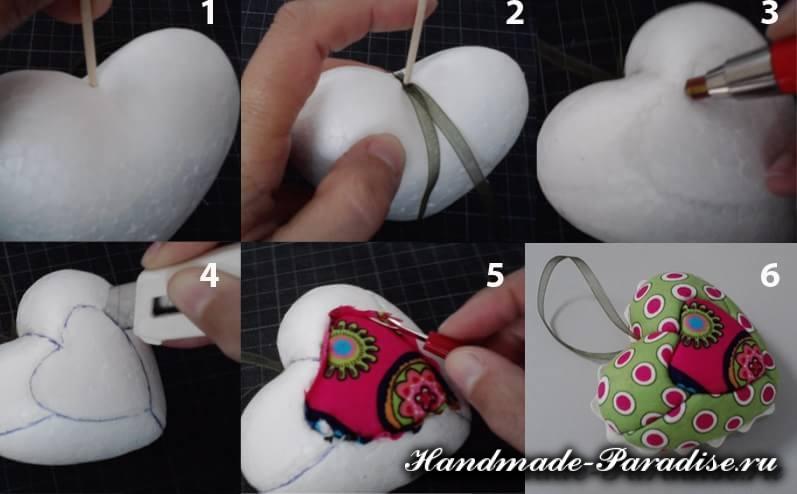 Валентинка своими руками в технике кинусайга (6)