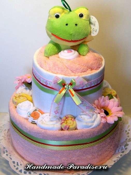 детские торты из полотенец (24)