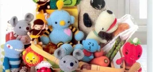 игрушки амигуруми крючком