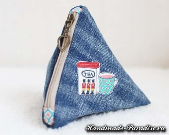 как сшить кошелек из джинсов (10)