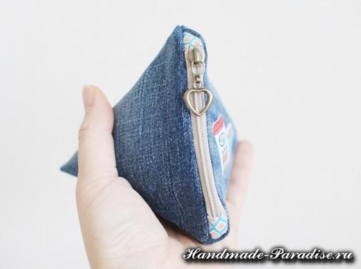 как сшить кошелек из джинсов (11)