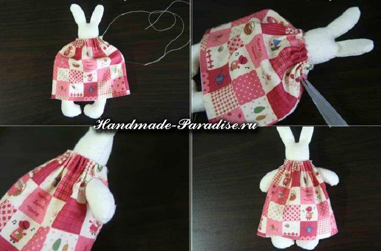 как сшить кролика из ткани (3)