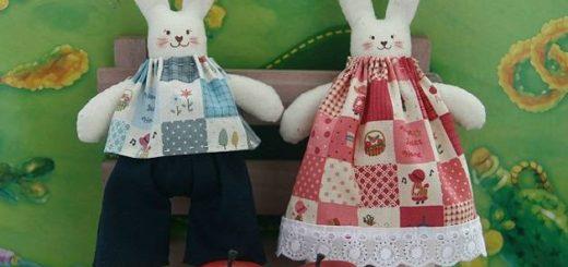 Как сшить кролика из ткани