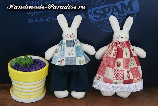 как сшить кролика из ткани (7)