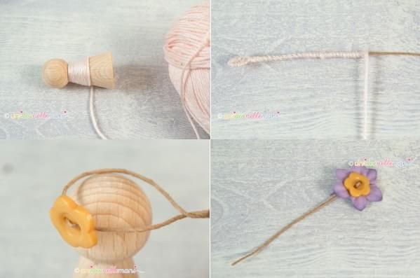 цветочные феи - Деревянные куколки своими руками (2)