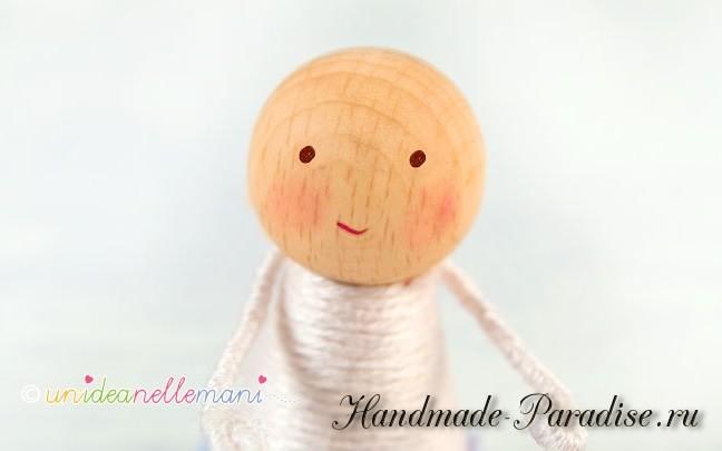 цветочные феи - Деревянные куколки своими руками (3)
