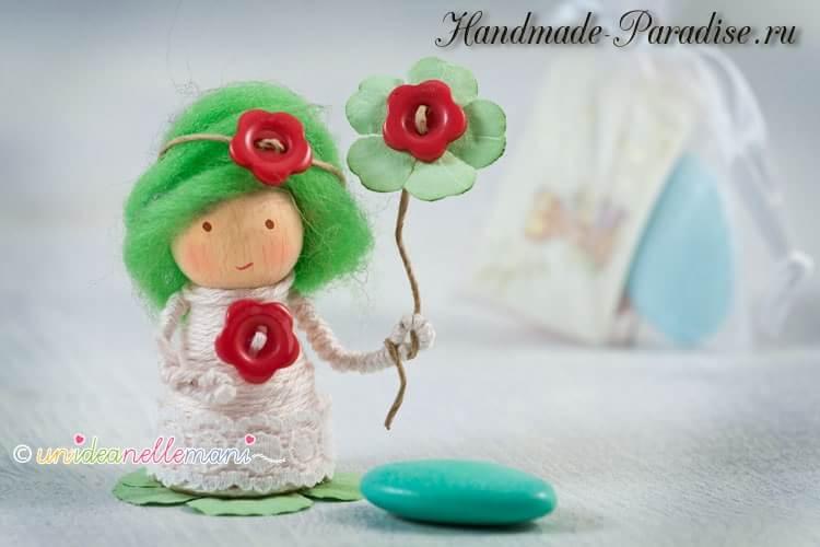 Деревянные куколки своими руками (7)