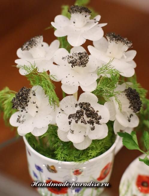 Букет цветов из редиски (2)