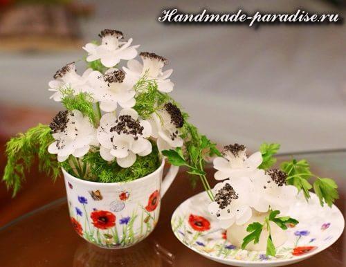 Букет цветов из редиски (7)