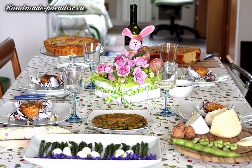 К Пасхе - розы из яичных лотков (2)