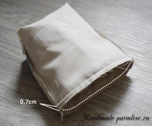 Как сшить мешочек на завязках (11)