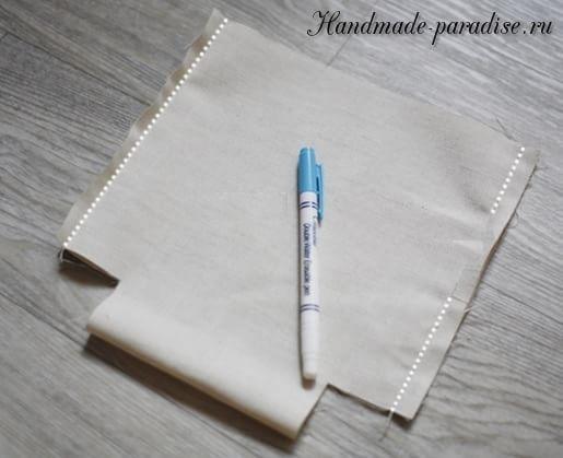 Как сшить мешочек на завязках (8)