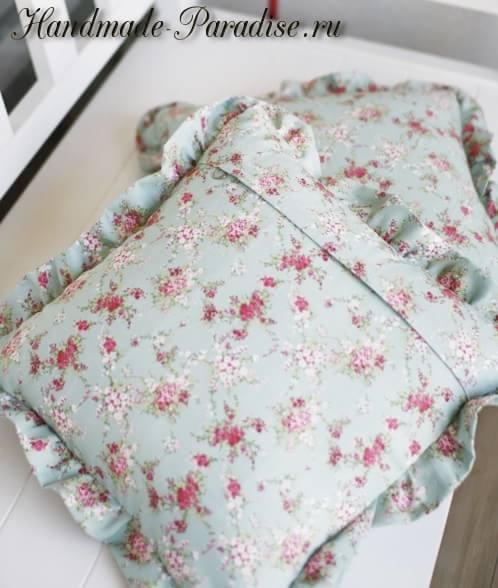 Как сшить наволочку для подушки (12)