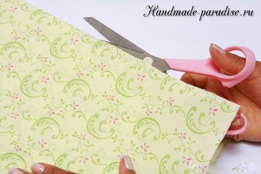 Конфетный букет из папиросной бумаги. Мастер-класс (5)
