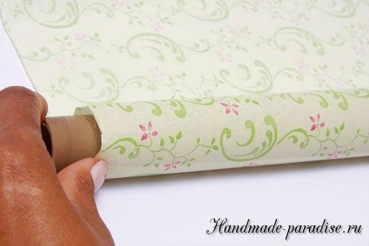 Конфетный букет из папиросной бумаги. Мастер-класс (6)