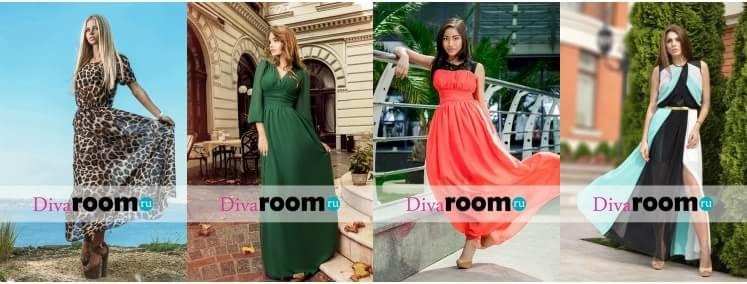 Красивые шифоновые платья от Divaroom (2)