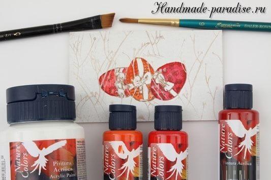 Пасхальная роспись садовой лейки (5)