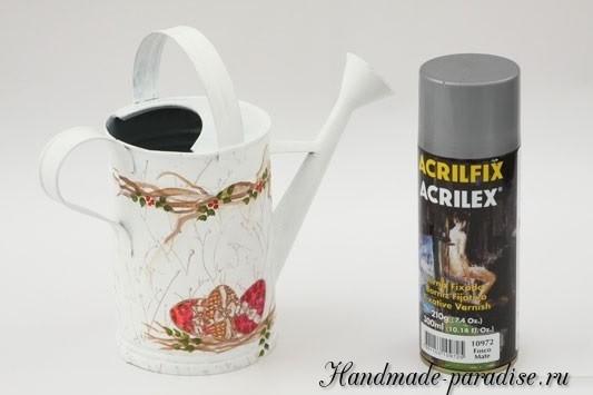 Пасхальная роспись садовой лейки (8)