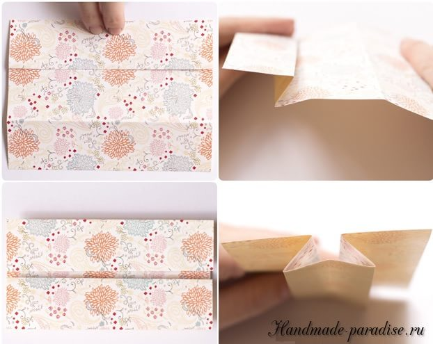 Платье из бумаги в технике оригами (4)