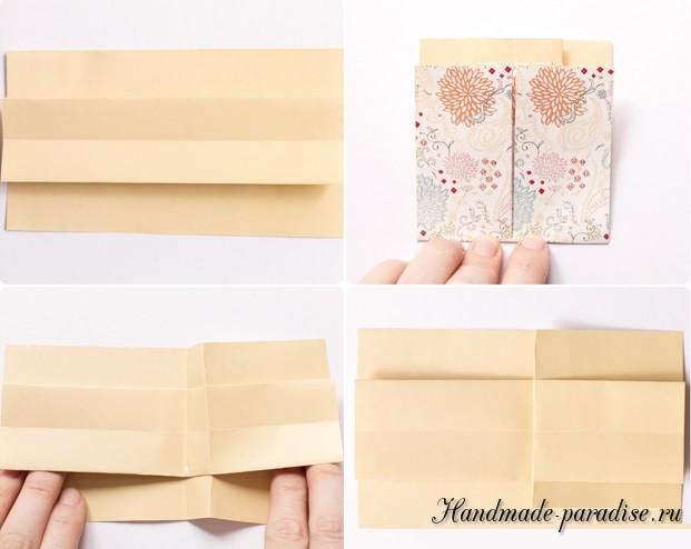 Платье из бумаги в технике оригами (5)