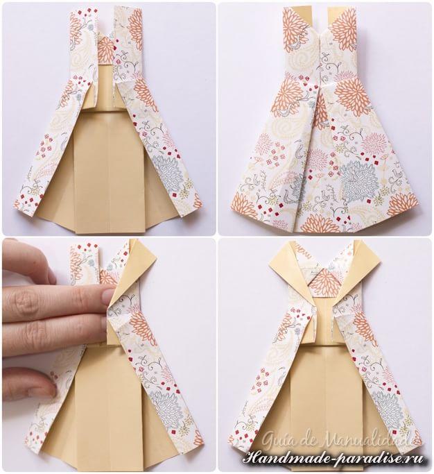 Платье в технике оригами (7)