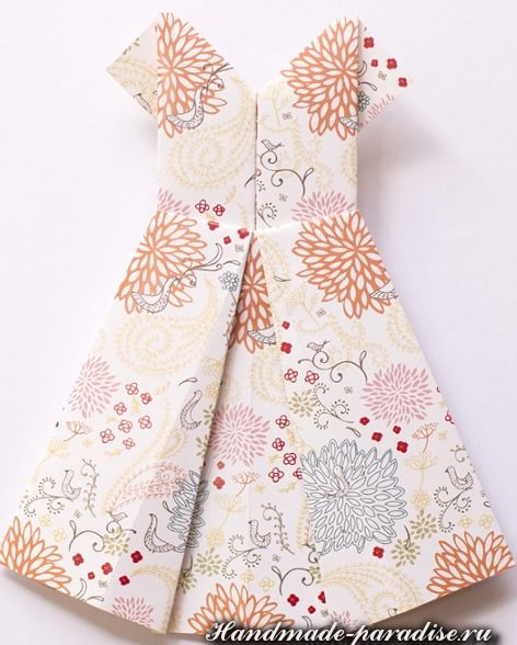 Платье в технике оригами (8)