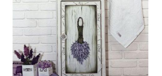 Роспись шкафа в винтажном французском стиле