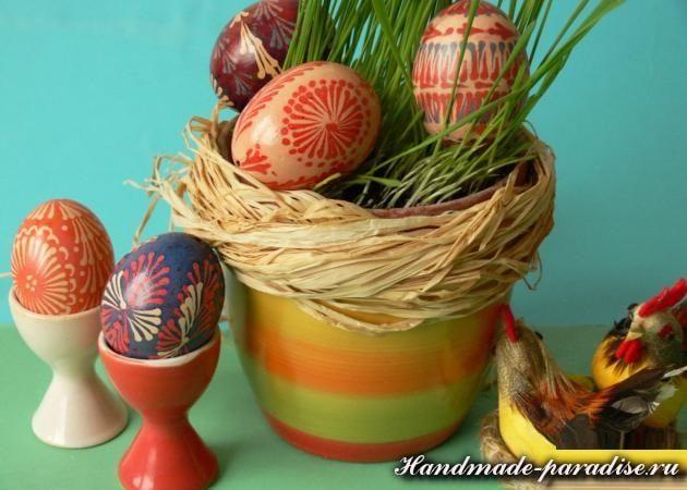 Шаблоны для росписи пасхальных яиц воском (4)