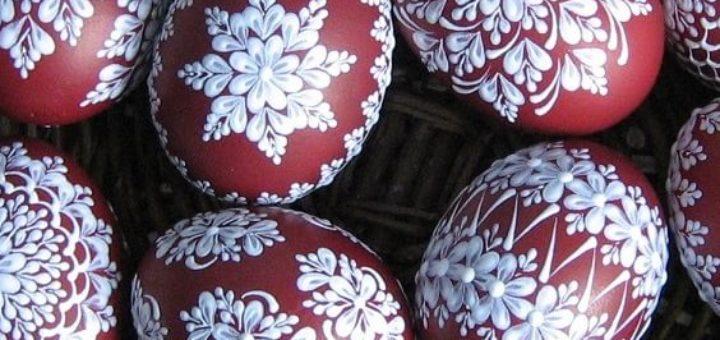 Шаблоны для росписи пасхальных яиц воском