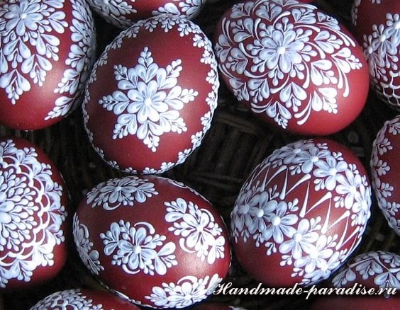Шаблоны для росписи пасхальных яиц воском (5)