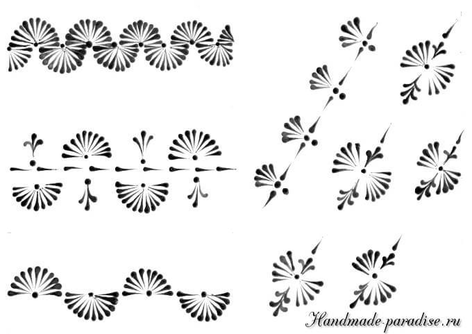 Шаблоны для росписи пасхальных яиц воском (6)
