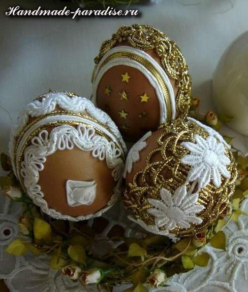 Пасхальные яйца в технике кинусайга (9)